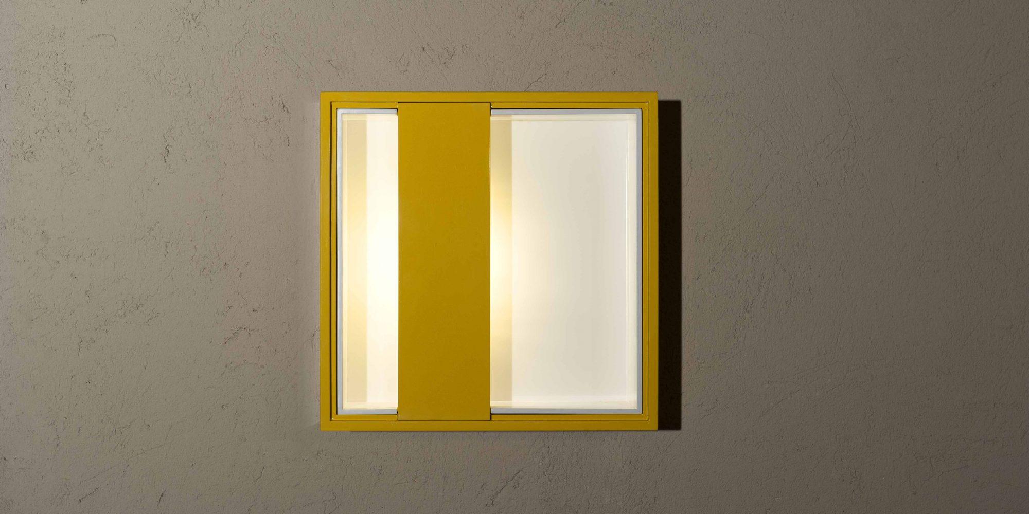 NoName - Quadri di Luce Limited Edition design Giuseppe e Lazzaro Raboni, Marco Zanuso jr prodotti da Pollice illuminazione