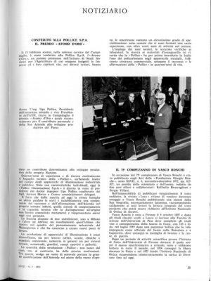 1973 ATOMO D'ORO Notiziario