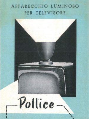 Pubblicità apparecchio per televisore