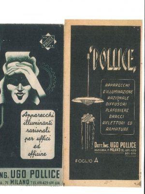 Pubblicità per uffici ed officine anni '30