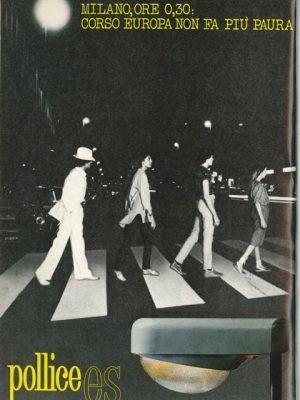 Pubblicità 1980 corso europa
