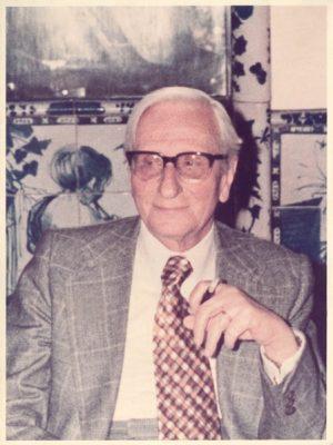 Ugo Pollice ritratto 1976