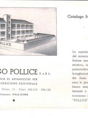 Stabilimento Pollice via Pisino Milano
